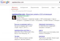 Snimka V Google