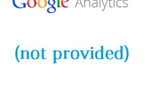 (not Provided) в Google Analytics защо излиза ?
