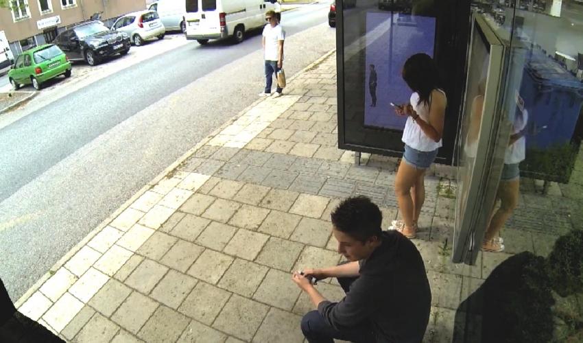 Photoshop изненади на автобусната спирка