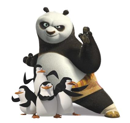 Панда Пингвин